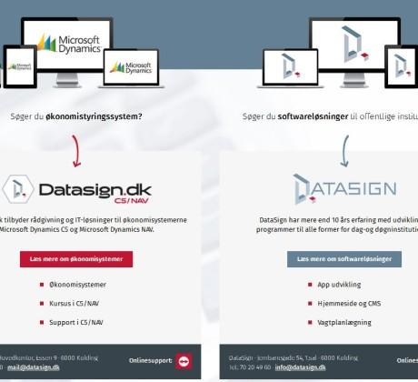 Datasign webshop