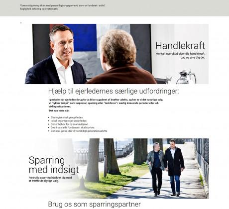 Wordpress hjemmeside til Dena