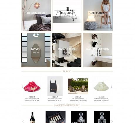 Magento webshop til Luxusanddesign.com
