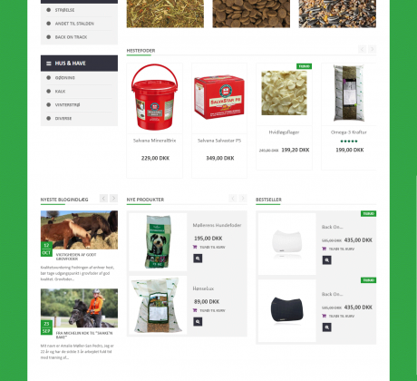 Woocommerce webshop til Dangro.com