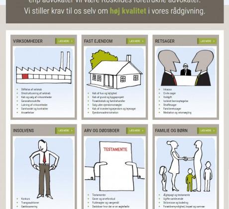 enp-advokater - wordpress website