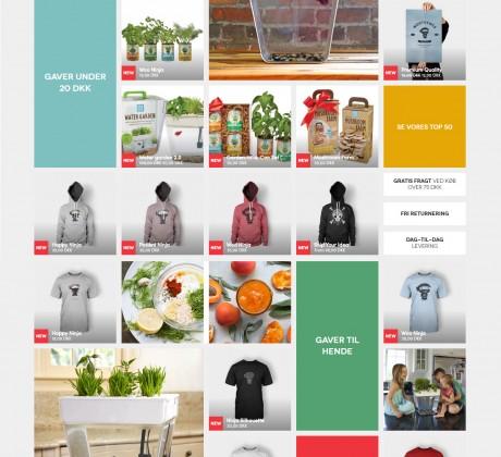 Woocommerce webshop til bordfisker.dk